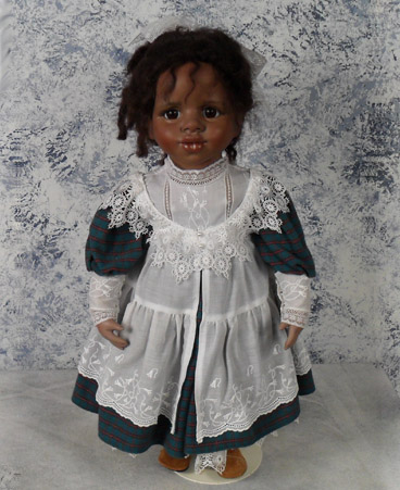 Columbine (#8) hand made doll by Jan Galperin the Franklin Mint designer. She only made about 25 dolls by hand and then stopped. $600.00