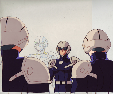 Troopers from Guyver, production cel and drawing $35.00