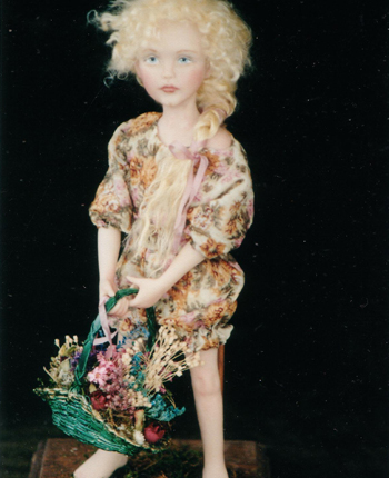 Linda Kertzman's Mayflower doll. One of a Kind. $1200.00