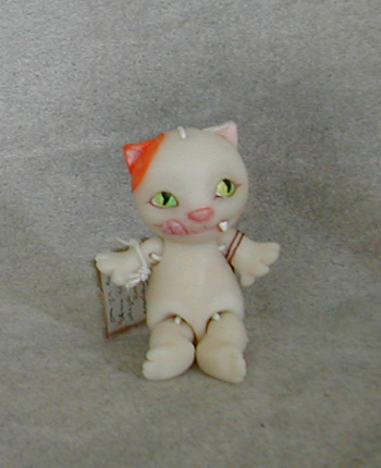 Anna Puchalski's Hungry Cat $70.00