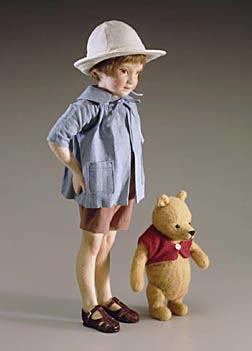R John Wright's Pocket Christopher Robin and Pooh $1100.00