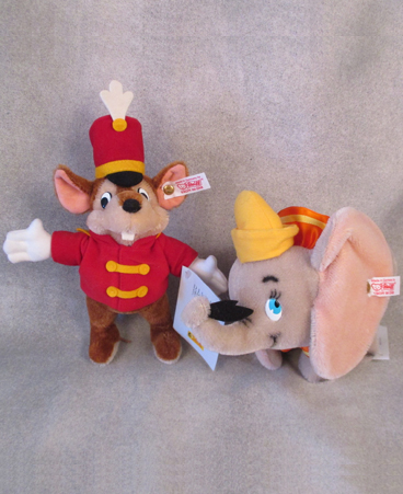 Steiff Disney Dumbo and Timothy Mouse $332.00